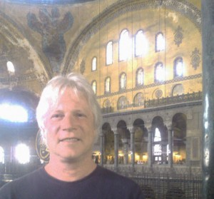 Jeff at the Hagia Sophia, 2013.