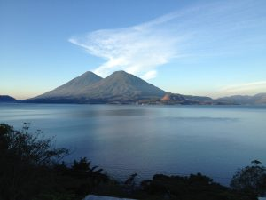 Sunrise, Lake Atitlan.