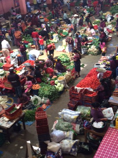 The Chichi marketplace, Guatemala Food Markets