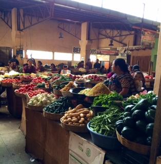 Xela market, markets around the world